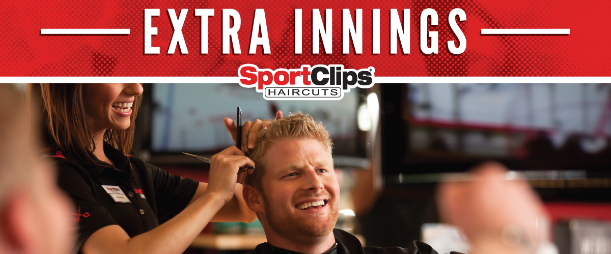 The Sport Clips Haircuts of Palatine Extra Innings Offerings